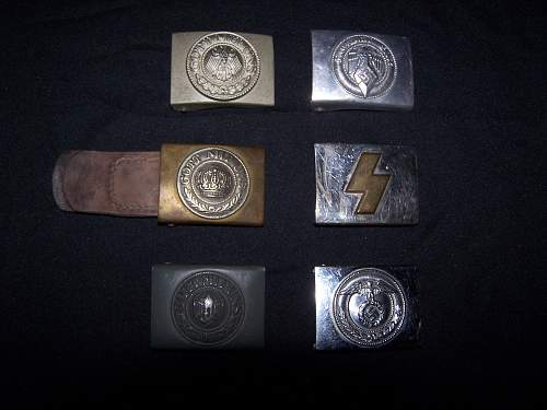 Belt buckles  / other things