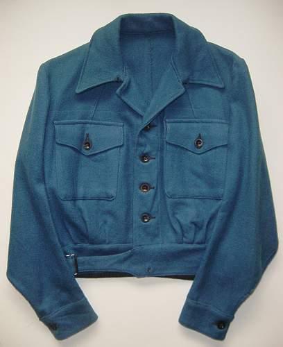 Click image for larger version.  Name:ATS Hospital blue battledress blouse..jpg Views:172 Size:206.3 KB ID:317617