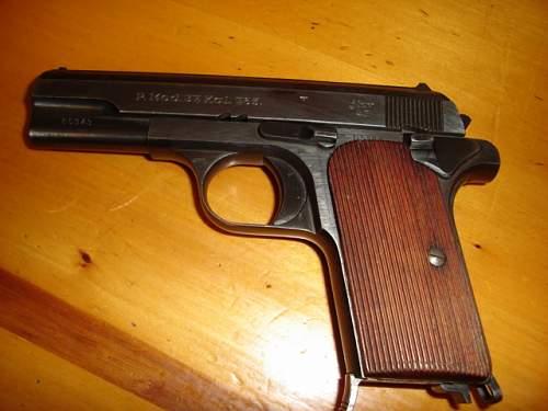 german hand guns