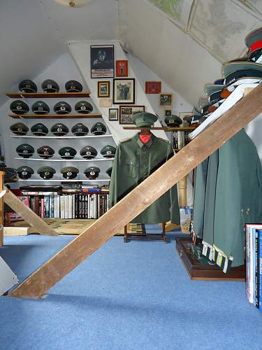 Another attic used for storage......