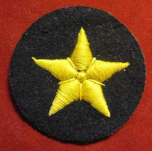Click image for larger version.  Name:244 KM Boatsswain EM`s Career Sleeve insignia.JPG Views:207 Size:243.3 KB ID:327786