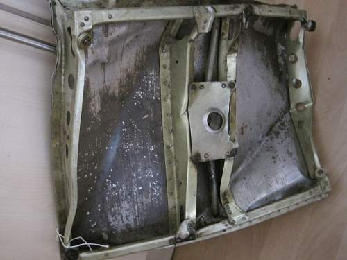 Here My Collection of WWII German Aircraft Parts