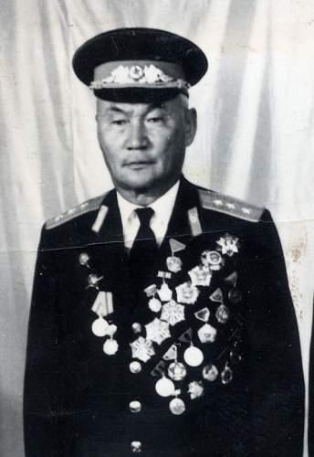 WWII Mongolian groups