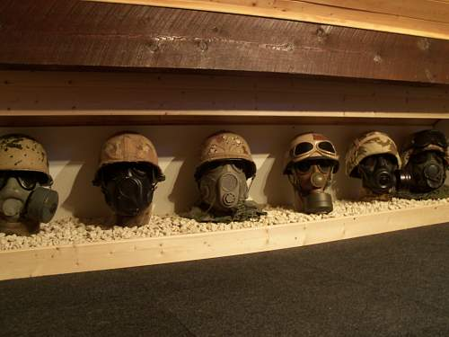 desert storm headgear display