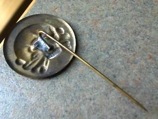 Freikorps Eiserne Division 10 year Anniversary Skull Pin