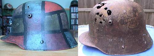 My stripped German relic lids