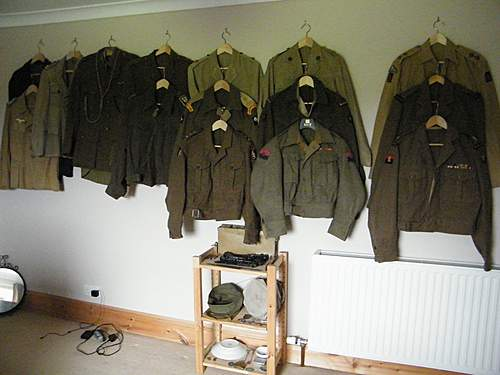 British & commonwealth tunic collection