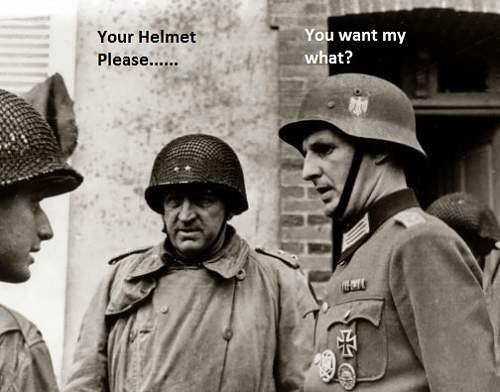 Off to a good start helmet dispay