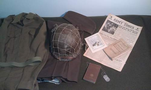 WWII 2nd Lt. Cot Display