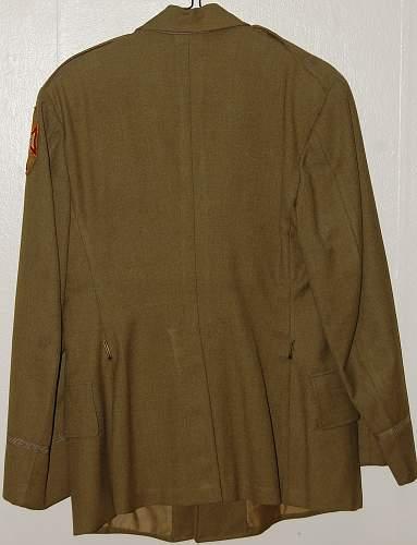 WWI & WWII US Uniform Lot Pickup