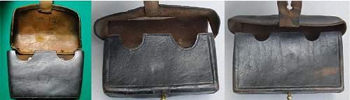 unknown German?  cartridge box