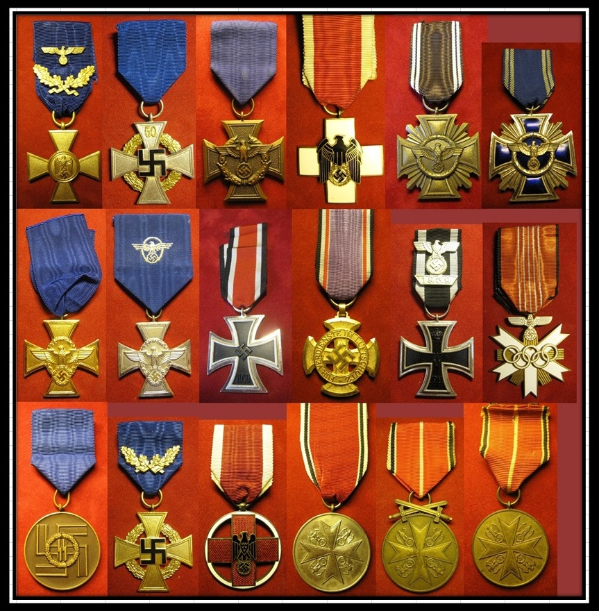 My collection wwii german medal badges page 46 - German military decorations ww2 ...