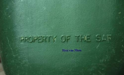 a strange Vietnam era canteen