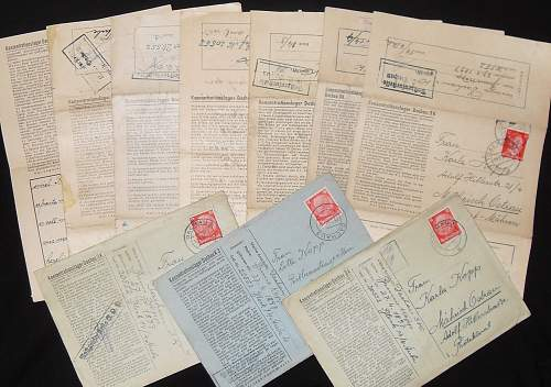 Click image for larger version.  Name:KL DACHAU LETTERS.jpg Views:174 Size:325.2 KB ID:426903