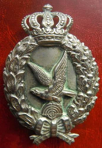 My WW1 AVIATION COLLECTION ; AIRGUNNER BADGES ,Bavaria & Prussia