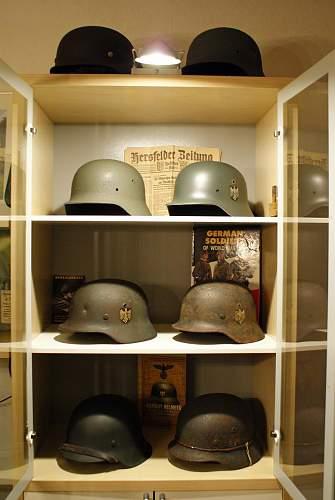 my german helmet collection