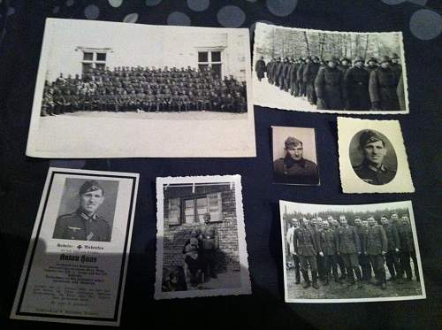 tribute to anton haas kia on 15th January 1944 collection