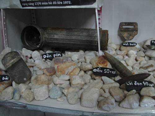 relic display: the battle of north Binh Dinh