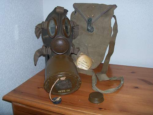 my gasmask collection