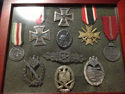 My modest Orders & Decorations of the Third Reich display