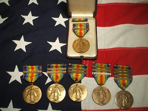 My U.S WW2 collection. Mainly POW and KIA Medal groupings