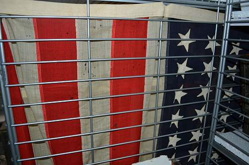 My WW2 American Flag in my collection