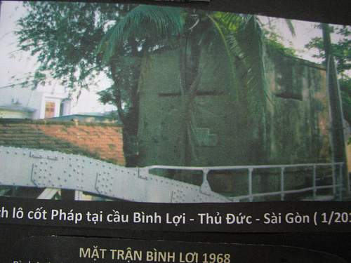 Other small relic display of Viet Nam War