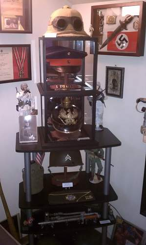 Some of my TR stuff Displayed updated