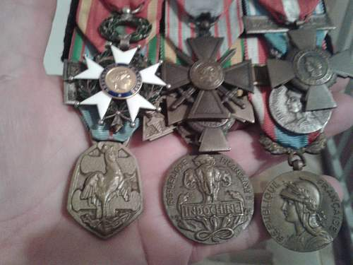 French Medals.