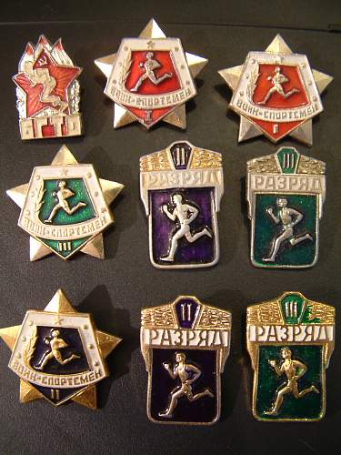 Soviet Badge Collection