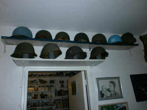 my world  helmet collection
