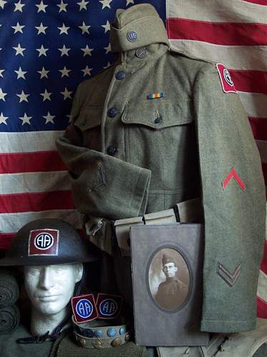 WWI 82nd Division Division Display