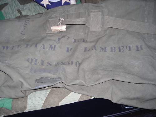 The collection of 1st LT Wm. Frank Lambeth