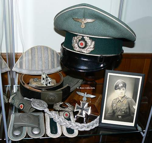 My small collection of Infantry related items.