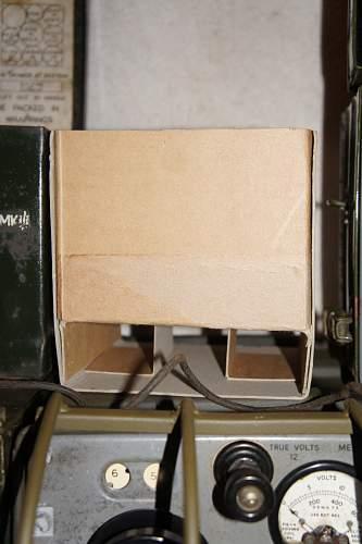 British Wireless Sets 18, 22 and 38