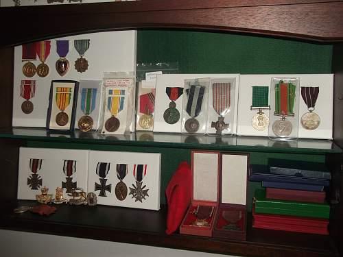 New Medal Display