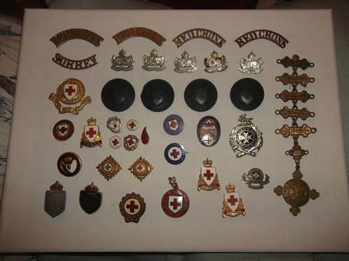 WW2 Red Cross Collection