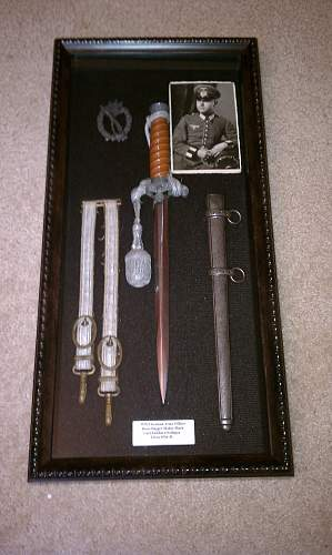 My Dagger displays