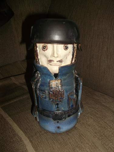 Sugar Jar German Soldier