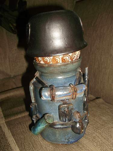 Sugar Jar German Soldier
