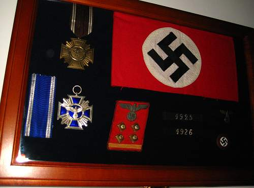 Click image for larger version.  Name:NSDAP collection.1.jpg Views:63 Size:317.9 KB ID:497077