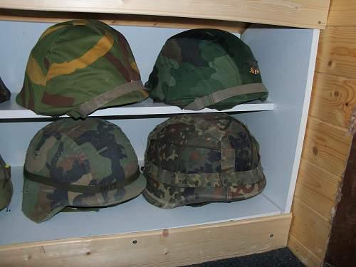 my composite helmet display