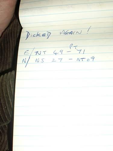 Interesting little RSM's notebook from Desert Storm