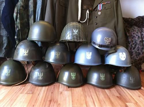Polish Helmet