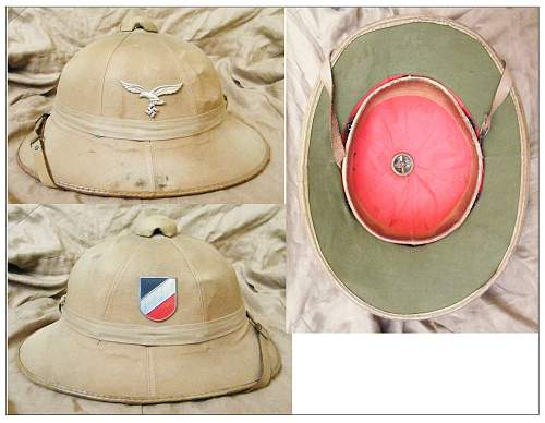 DAK items (Allied with Afrika cammo too...)