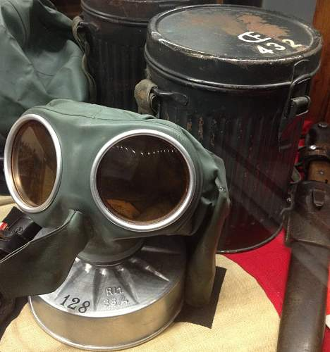 Share with us your gas masks
