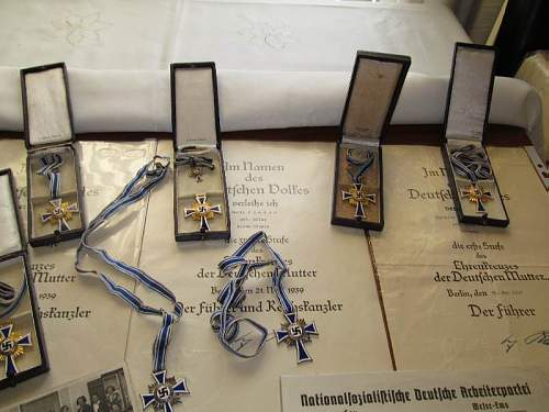 My mothers cross collection