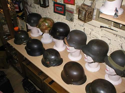 my new war room, german militaria