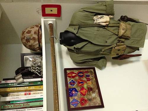 Small Marine Corps Display