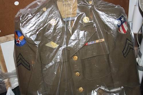 u.s tunic burma campaign and vietnam tunic